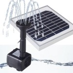 Solar Water Pump for Fountain