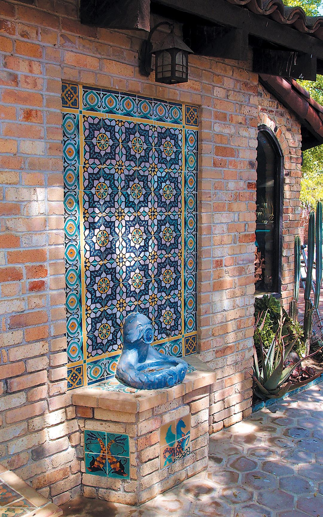 Spanish Wall Fountains