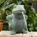 Spitting Frog Fountain