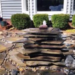 Stacked Rock Fountain