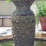 Stacked Stone Fountain
