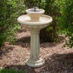 Stone Bird Bath Fountain