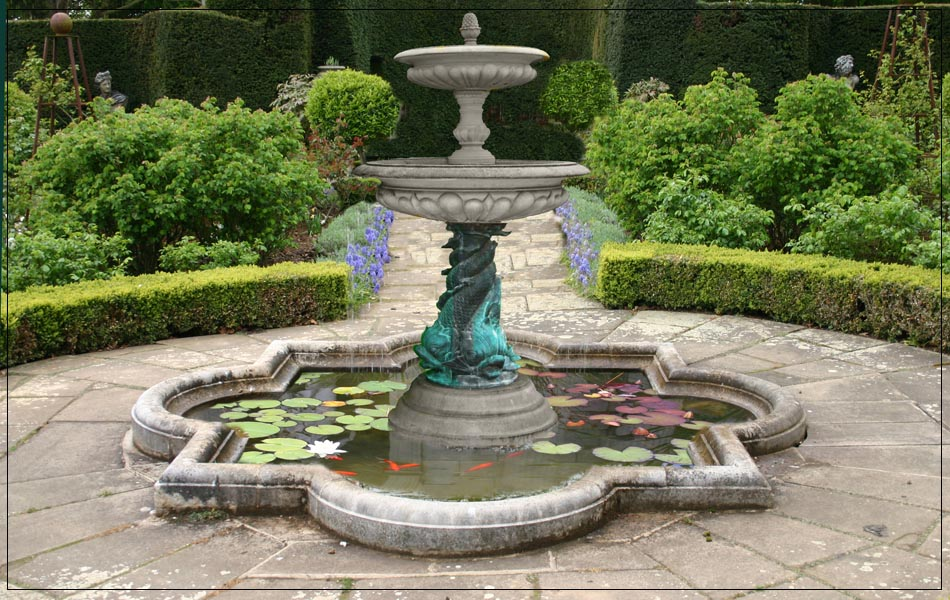 Stone Patio Fountains