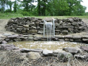 Stone Wal Fountains