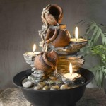 Tabletop Fountain with Light