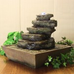 Tabletop Rock Fountain