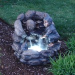 Tabletop Waterfall Fountain with Light