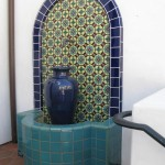 Talavera Wall Fountain