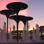 TCU Frog Fountain