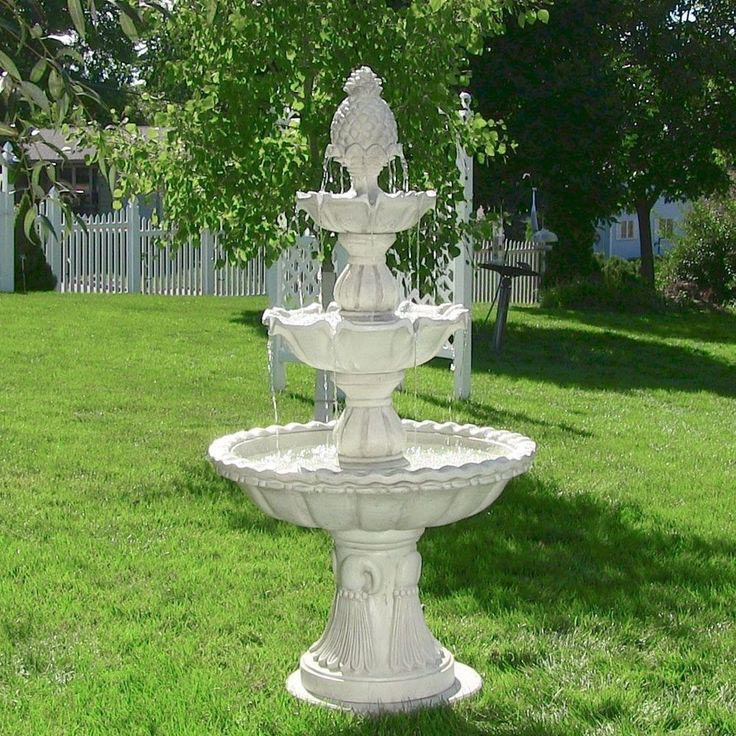 Tiered Garden Fountains