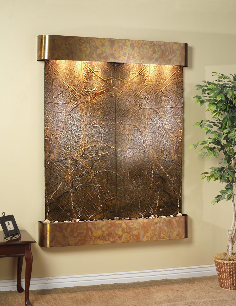 Wall Fountains Indoor