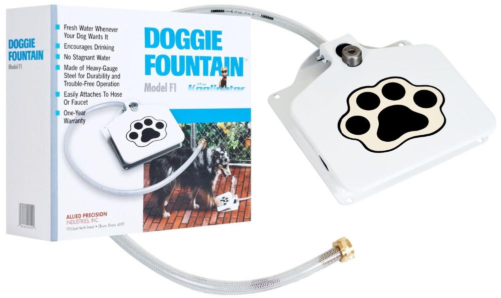 Water Dog Auto Outdoor Drinking Fountain