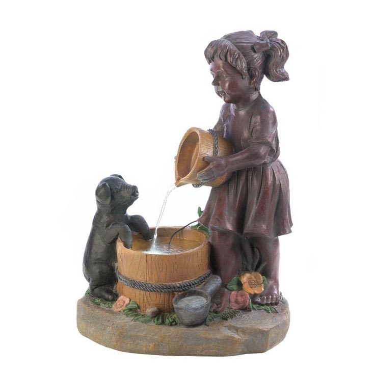 Water Fountain Home Decor