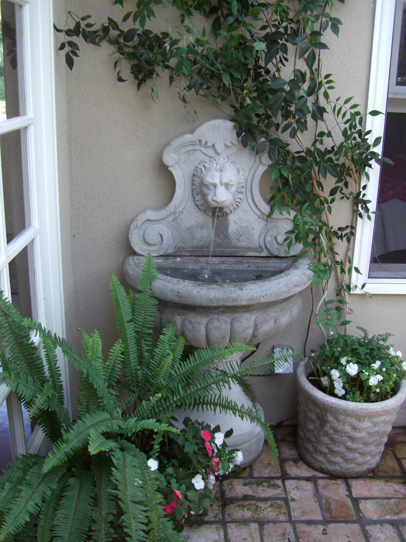 Water Fountain in Home