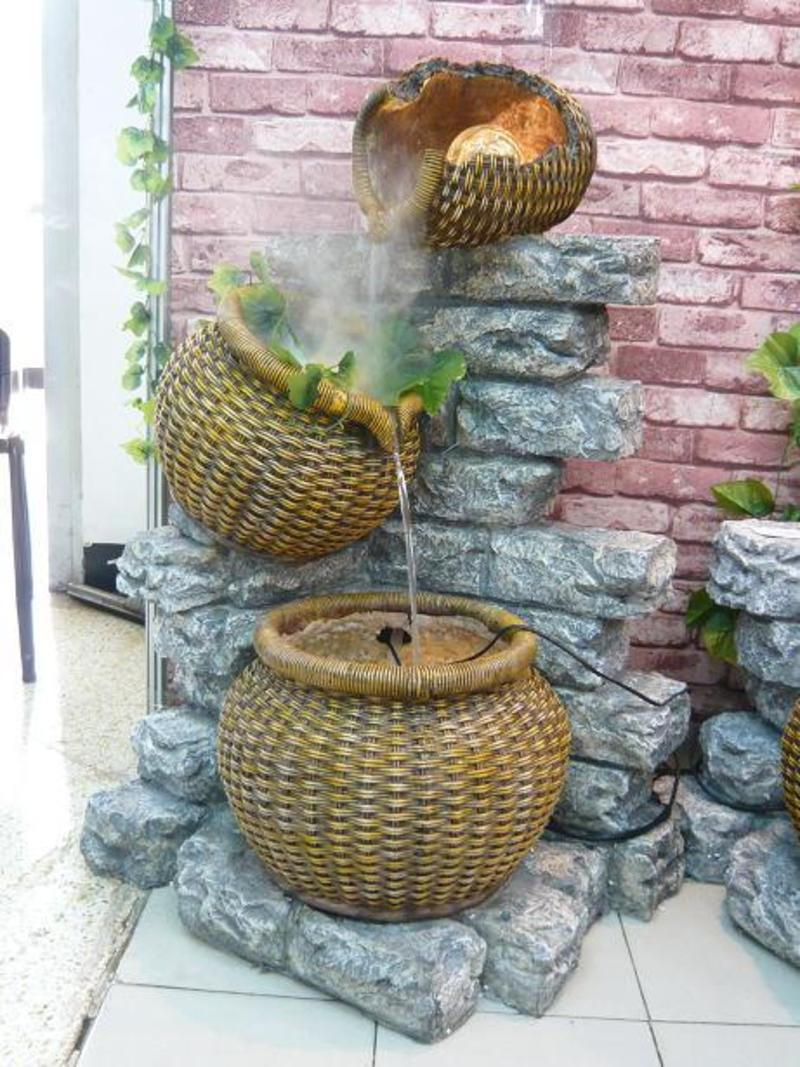 Water Fountain Inside Home