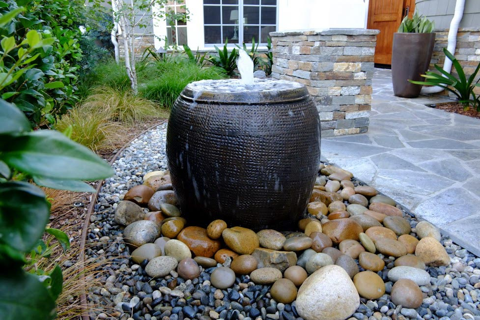 Water Fountain Landscape Ideas