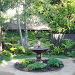 Water Fountain Outdoor Patio