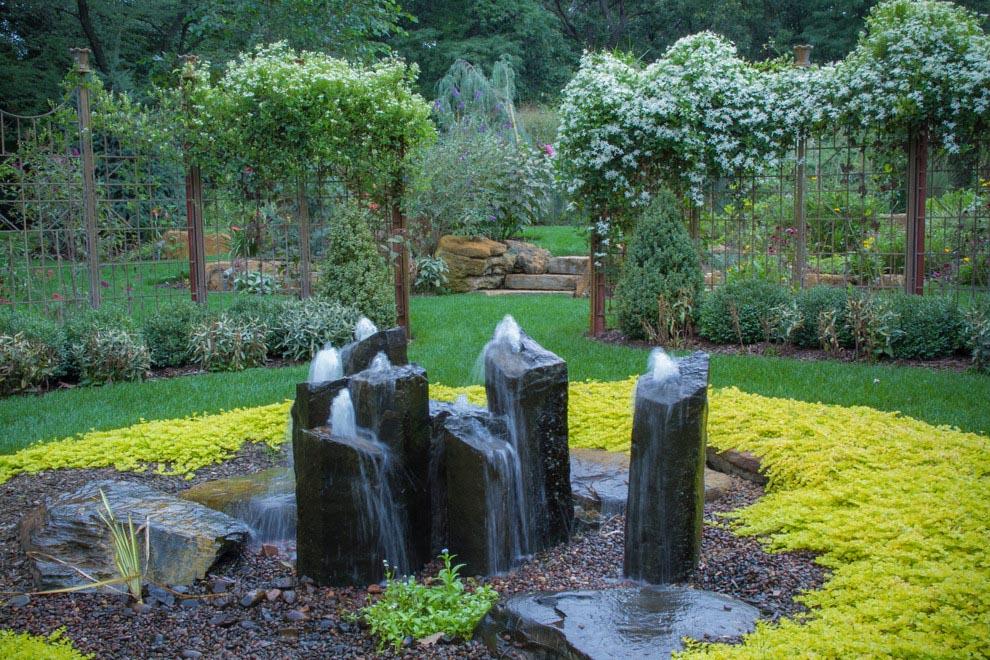 Water Fountain Yard