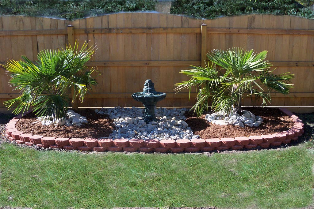 Water fountains for yards fountain design ideas Water fountain landscaping ideas