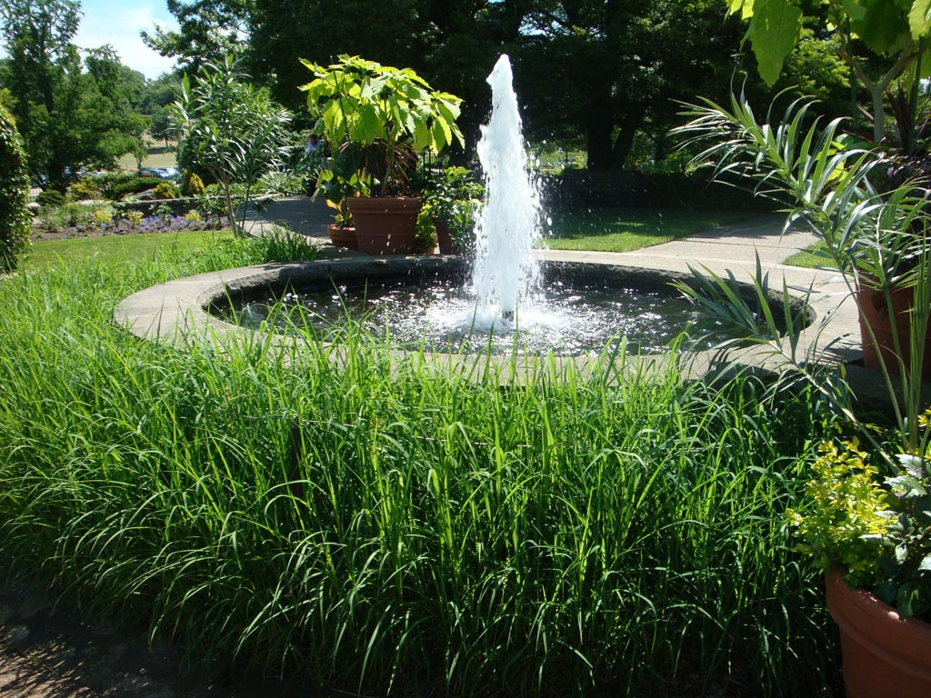 Backyard fountain ideas american hwy How to landscape