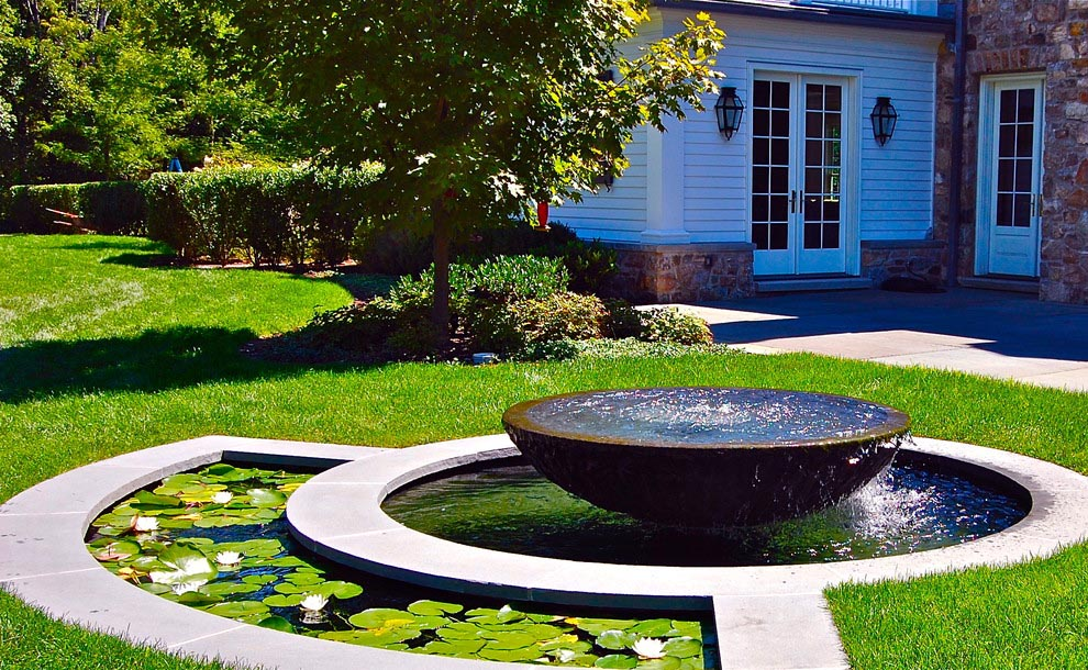 Water Fountains in the Landscape