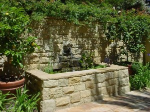 Water Fountains Stone Landscaping