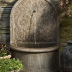 Water Wall Fountains Outdoor