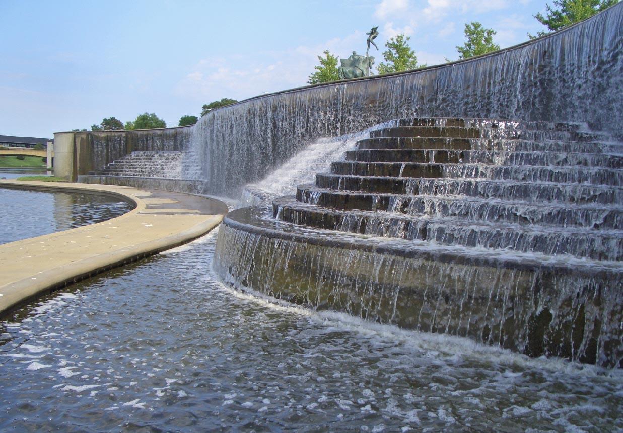 Waterfall Fountain Outdoor