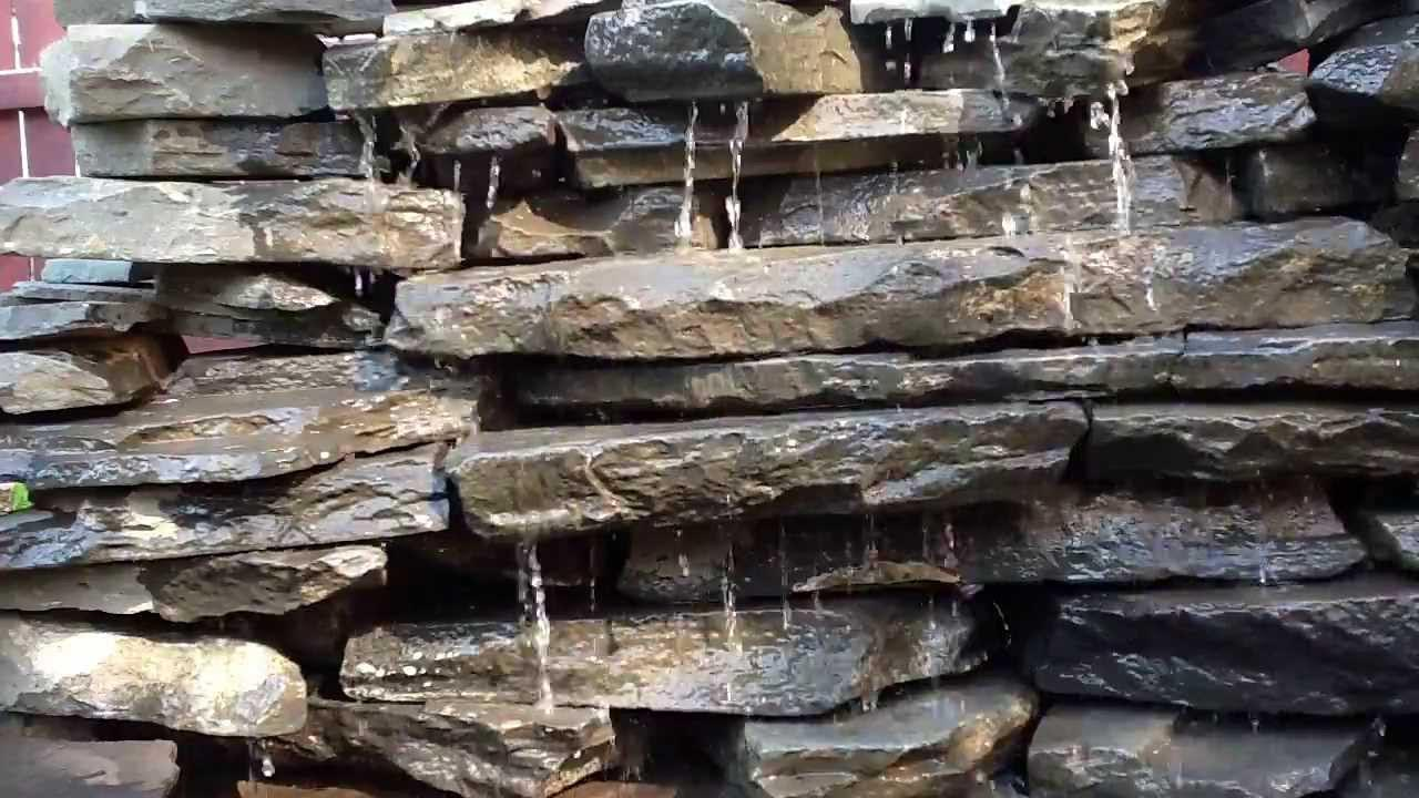 Waterfall Fountain Wall