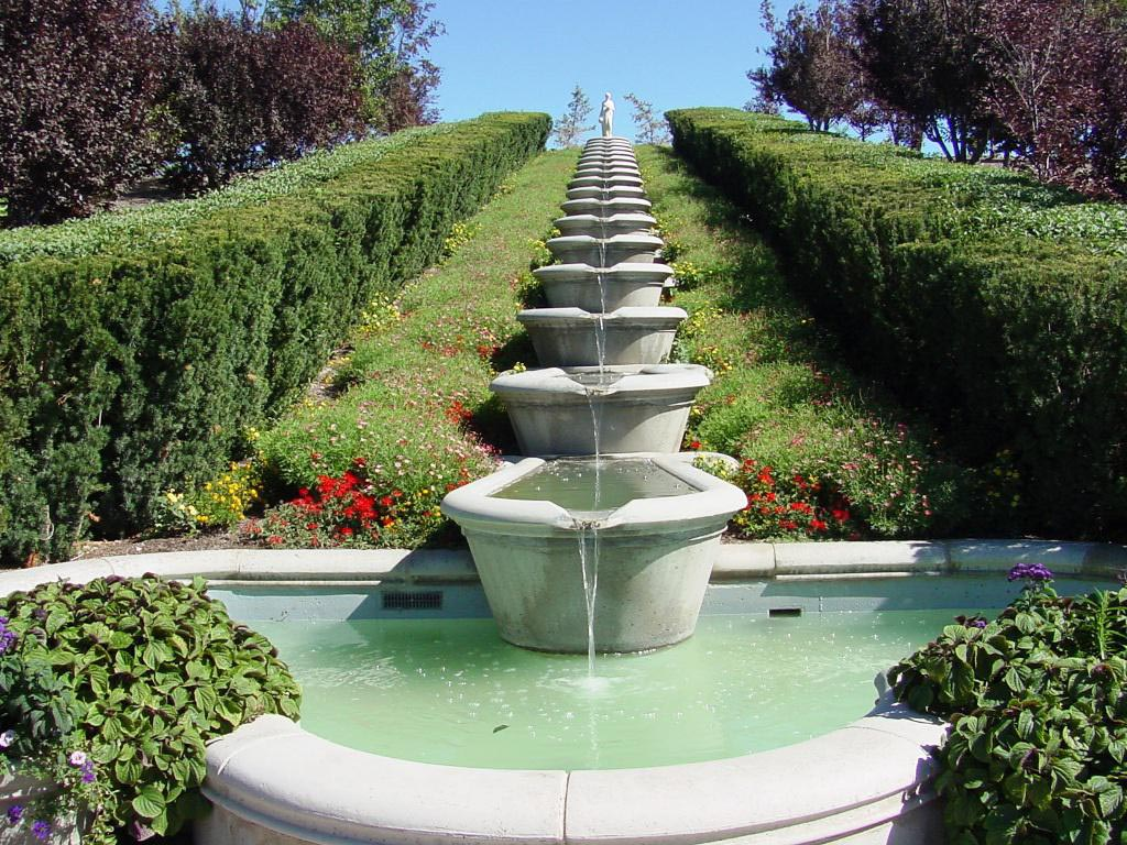 Waterfall Patio Fountains