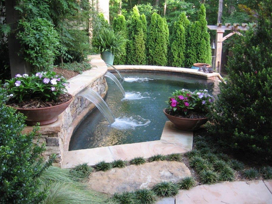 Waterfall Pool Fountain